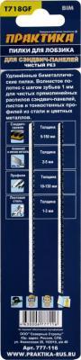 Фото Лобзиковая пилка Практика T718GF BIM 2шт 777-116. Купить в РФ