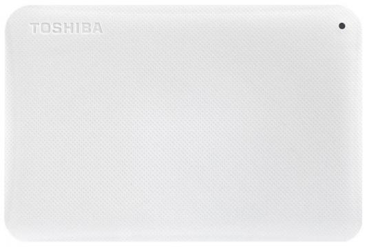 """Внешний жесткий диск 2.5"""" USB 3.0 3Tb Toshiba белый HDTP230EW3CA"""