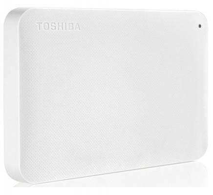 """Фото Внешний жесткий диск 2.5"""" USB 3.0 3Tb Toshiba белый HDTP230EW3CA. Купить в РФ"""
