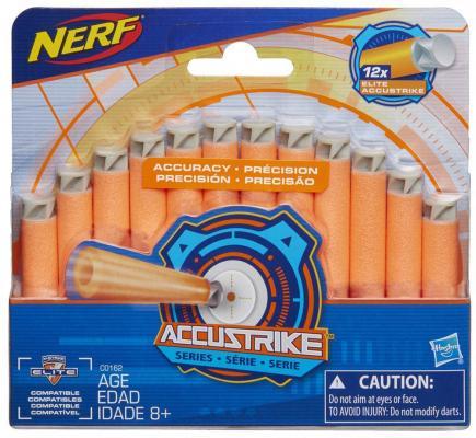 Фото Набор стрел для бластеров Hasbro Nerf Accustrike оранжевый. Купить в РФ