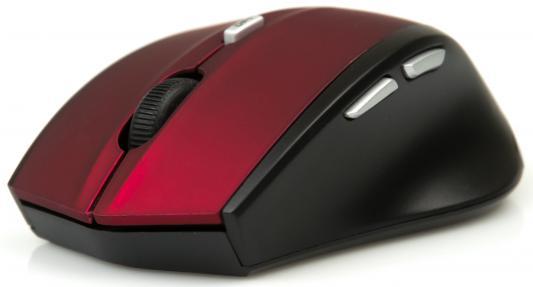 Фото Мышь беспроводная Dialog Katana RF MROK-17U красный USB. Купить в РФ