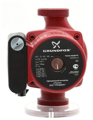 Насос поверхностный Grundfos UPS 32-80 180 11 куб. м/час 135 Вт насос grundfos ups 32 80 180 95906443