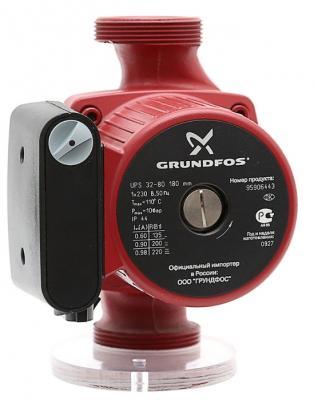 Фото Насос поверхностный Grundfos UPS 32-80 180 11 куб. м/час 135 Вт. Купить в РФ