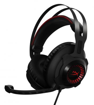 Гарнитура Kingston HyperX Cloud Revolver Headset черный HX-HSCR-BK/EE