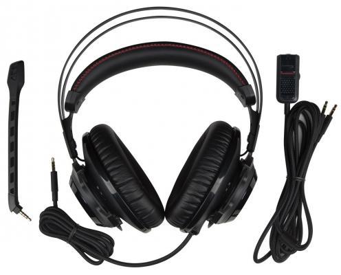 Фото Гарнитура Kingston HyperX Cloud Revolver Headset черный HX-HSCR-BK/EE. Купить в РФ
