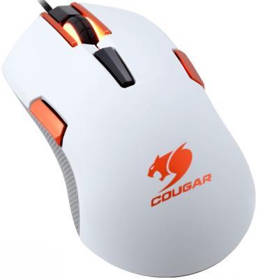 Мышь проводная COUGAR 250M белый USB CGR-WOMH-250