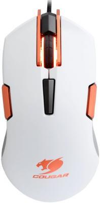 Фото Мышь проводная COUGAR 250M белый USB. Купить в РФ