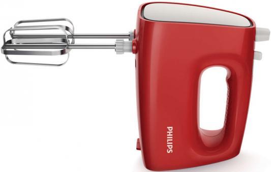 Миксер ручной Philips HR1552/12 250 Вт красный белый миксер ручной philips hr1560 20 400 вт черный
