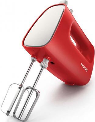 Фото Миксер ручной Philips HR1552/12 250 Вт красный белый. Купить в РФ