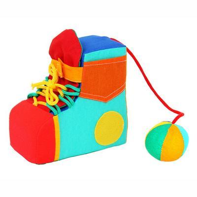 Фото Развивающая игрушка Дельфин Сапожок Д-16-10. Купить в РФ