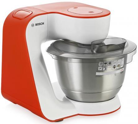 Фото Кухонный комбайн Bosch MUM54I00 бело-красный. Купить в РФ