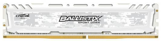 Оперативная память 4Gb (1x4Gb) PC4-21300 2666MHz DDR4 DIMM CL16 Crucial BLS4G4D26BFSC оперативная память 4gb pc4 21300 2666hz ddr4 dimm crucial ble4g4d26afea