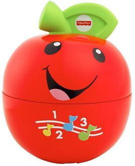 """Фото Интерактивная игрушка Fisher Price """"Смейся и учись"""" Обучающая игрушка """"Яблочко"""" от 1 года разноцветный. Купить в РФ"""