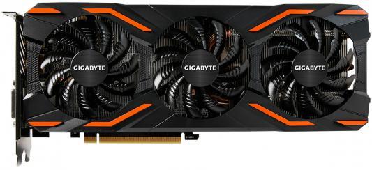 Фото Видеокарта 8192Mb Gigabyte GeForce GTX1080 PCI-E 256bit GDDR5X DVI HDMI DP GV-N1080D5X-8GD Retail. Купить в РФ
