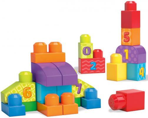 Конструктор MEGA BLOKS First Builders Учимся считать 20 элементов