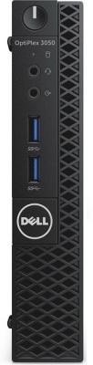 Фото Неттоп DELL Optiplex 3050 Micro Intel Core i5-7500T 8Gb SSD 256 Intel HD Graphics использует системную Linux черный серебристый 3050-8268. Купить в РФ
