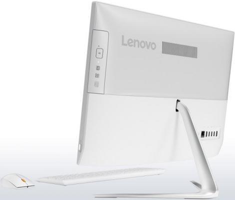 """Фото Моноблок 23"""" Lenovo IdeaCentre 510-23ISH 1920 x 1080 Intel Core i5-7400T 8Gb 1Tb Intel HD Graphics 630 использует системную DOS белый F0CD00HPRK. Купить в РФ"""