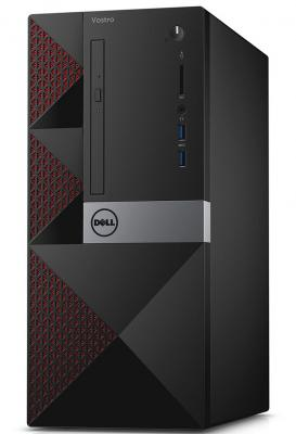 Системный блок DELL Vostro 3667 G4400 3.3GHz 4Gb 500Gb HD510 DVD-RW Win10Pro клавиатура мышь черный 3667-8077 системный блок dell optiplex 3050 intel core i3 3400мгц 4гб ram 128гб win 10 pro черный