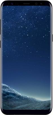 """Смартфон Samsung Galaxy S8+ черный бриллиант 6.2"""" 64 Гб NFC LTE Wi-Fi GPS 3G SM-G955FZKDSER"""