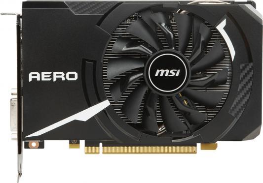 Видеокарта 6144Mb MSI GeForce GTX 1060 PCI-E 192bit GDDR5 DVI HDMI DP HDCP GTX 1060 AERO ITX 6G OC Retail