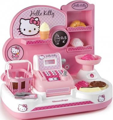 Игровой набор SMOBY Мини-магазин Hello Kitty 16 предметов 24778