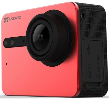 Экшн-камера Ezviz S5 красный CS-S5-212WFBS-R