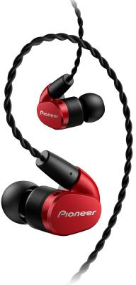 Гарнитура Pioneer SE-CH5T-R красный цена