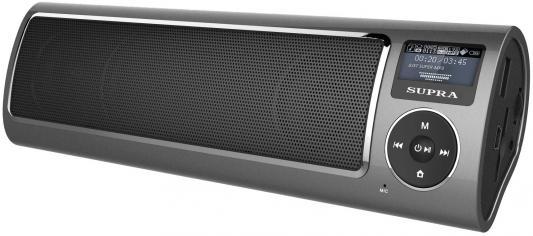 Портативная акустикаSupra PAS-6280 серый supra mts 211