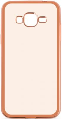 Чехол силиконовый DF sCase-36 для Samsung Galaxy J2 Prime/Grand Prime 2016 с рамкой розовый uniq bodycon для samsung galaxy grand prime black