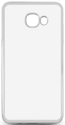 Чехол силиконовый DF sCase-37 для Samsung Galaxy J5 Prime/ On5 2016 с рамкой серебристый аксессуар чехол samsung galaxy j2 prime grand prime 2016 df scase 34
