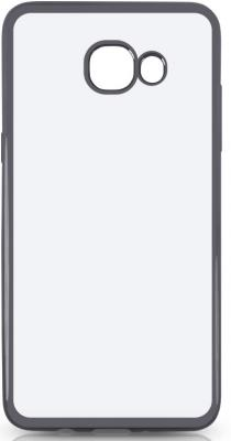 Чехол силиконовый DF sCase-37 для Samsung Galaxy J5 Prime/ On5 2016 с рамкой серый силиконовый чехол с рамкой для samsung galaxy j5 prime on5 2016 df scase 37 space gray