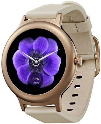 Смарт-часы LG Watch Style W270 розовое золото LGW270.ACISPG