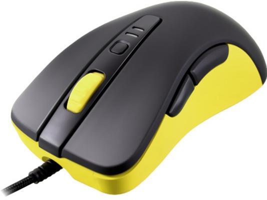 Мышь проводная COUGAR 300M чёрный жёлтый USB