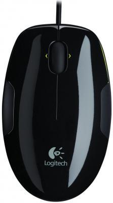 Фото Мышь проводная Logitech M150 чёрный USB. Купить в РФ