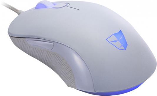 Мышь проводная Tesoro Sharur Spectrum 2.0 белый USB TS-H3L