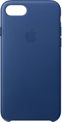 Чехол (клип-кейс) Apple Leather Case для iPhone 7 синий MPT92ZM/A чехол клип кейс apple для apple iphone se mmhg2zm a темно синий