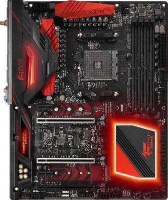 Мат. плата для ПК ASRock X370 Professional Gaming Socket AM4 AMD X370 4xDDR4 3xPCI-E 16x 2xPCI-E 1x 8xSATAIII ATX Retail