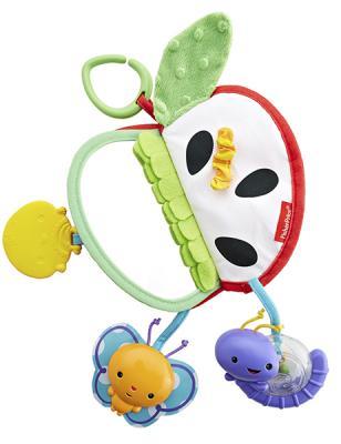 Игрушка-прорезыватель Fisher Price Яблочко (разнофактурное) разноцветный с рождения fisher price прорезыватель музыкальные ключики