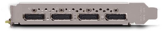 Фото Видеокарта 5120Mb PNY Quadro P2000 PCI-E 160bit GDDR5 4xDP VCQP2000-PB Retail. Купить в РФ