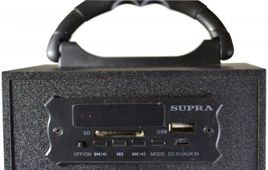 Фото Портативная акустикаSupra BTS-550 черный. Купить в РФ