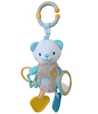 """Развивающая игрушка Жирафики Подвеска с зеркальцем и прорезывателями """"Мишка Митя"""" 939457"""