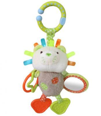 """Развивающая игрушка Жирафики Подвеска с зеркальцем и прорезывателями """"Львенок Леси"""" 939459"""