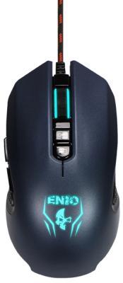Мышь проводная Jet.A Enio JA-GH23 чёрный синий USB мышь проводная jet a arrow ja gh35 чёрный