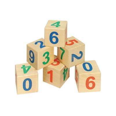 Кубики Пелси Веселый счет, 12 шт И664