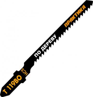 Лобзиковая пилка Практика T119BO HCS 2шт 034-496