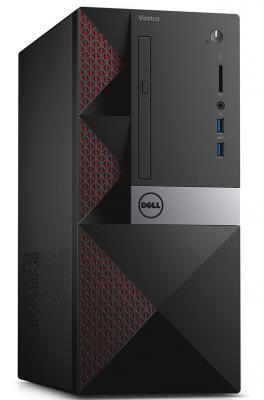 Фото Системный блок DELL Vostro 3667 i5-6400 2.7GHz 4Gb 1Tb HD530 DVD-RW Linux клавиатура мышь черный 3667-8145. Купить в РФ