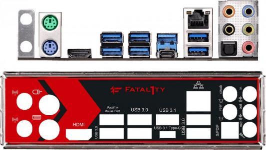 Фото Мат. плата для ПК ASRock Fatal1ty X370 Gaming K4 Socket AM4 AMD X370 4xDDR4 2xPCI-E 16x 4xPCI-E 1x 6xSATAIII ATX Retail. Купить в РФ
