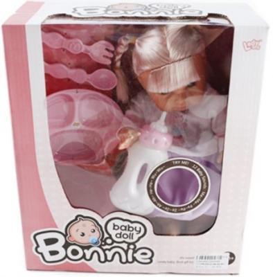 Кукла Shantou Gepai Bonnie с аксессуарами со звуком LD9908E кукла yako m6579 6