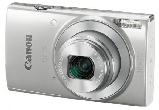 Фотоаппарат Canon Ixus 190 20Mp 10xZoom серебристый фотоаппарат canon ixus 285 hs silver