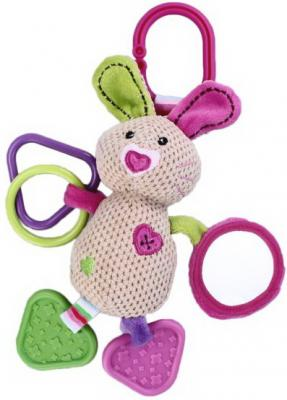 Интерактивная игрушка Жирафики Зайка Полли от 1 месяца игры и игрушки в дорогу жирафики подвеска книжка с шуршалкой зайка полли